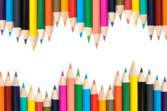 Pencils with different color. Stock Photography