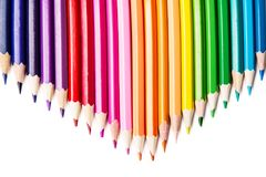 Multicolored pencils. Pencils of different colors for drawing Royalty Free Stock Photography