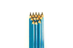 Pencils Drawing. Pencils for writing, document, education, drawing and school Royalty Free Stock Photography