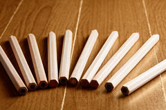 Pencils fan out Royalty Free Stock Photo