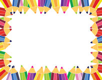 Free Pencils Frame Stock Photography - 21249902