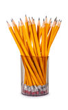 Pencils in glass Stock Image