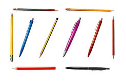 Pencils group 2 Royalty Free Stock Photos