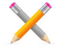 Pencils icon Stock Photography