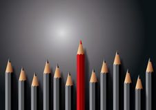 Pencils illustration Royalty Free Stock Photos
