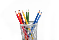 Pencils isolated Stock Image