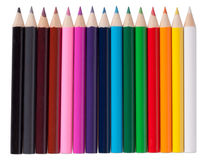 pencils isolated Royalty Free Stock Image