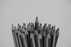 Pencils isolated Stock Photo