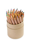 Pencils isolated with a clipping path Royalty Free Stock Photography