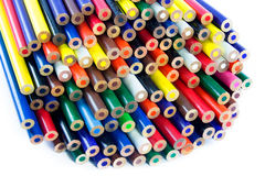 Pencils isolated on white background.  royalty free stock images