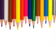 Pencils. Isolated on white background Stock Photo