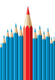 Pencils, leadership concept Royalty Free Stock Photo