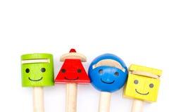 Pencils lid. Royalty Free Stock Photo
