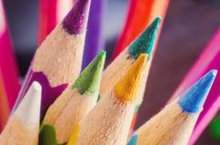Pencils macro Royalty Free Stock Photography