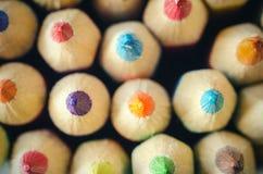 Pencils macro royalty free stock image