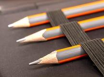 Pencils makro Arkivfoton