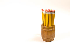 Pencils in a mug Stock Image