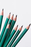 Pencils in perspective Stock Photos