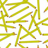 Pencils repetition Stock Photos