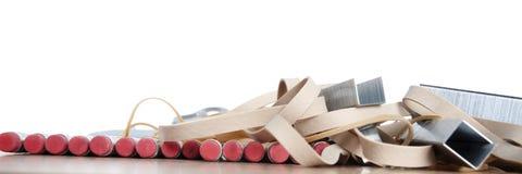 Pencils, School & Office Supplies Stock Images