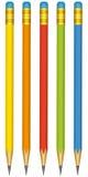 Pencils set Stock Images
