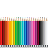 Pencils set Stock Images