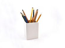 Pencils stock images Royalty Free Stock Photography