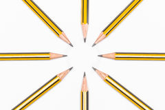 Pencils together Royalty Free Stock Photography