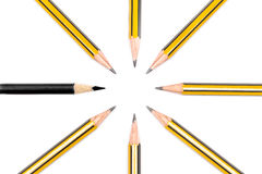 Pencils together Royalty Free Stock Photo