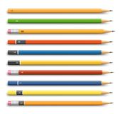 Pencils various design Stock Photo