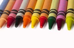 Pencils on white background Stock Image