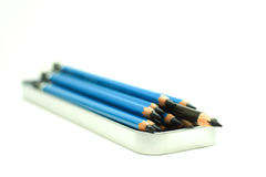 Pencils. For writing, document, education, drawing and chool Royalty Free Stock Photography