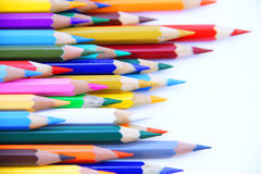 Pencli color 4. Coloring pencils life. provided that it is highly colored Royalty Free Stock Photography