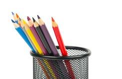 Pencols coloridos fotografia de stock