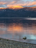 Pend Oreille jezioro w północnym Idaho Obraz Royalty Free