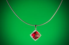 Pendant against  gradient background Royalty Free Stock Images