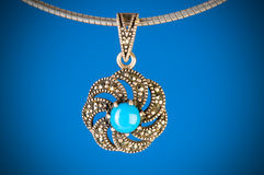 Pendant against  gradient background Stock Images