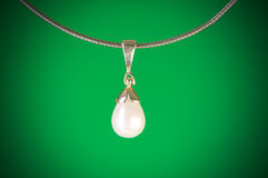 Pendant against  gradient background Stock Photo