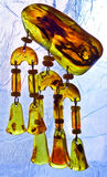 Pendant of amber Stock Photo
