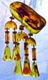 Pendant of amber Stock Photo