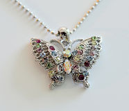 Pendant butterfly jewel. Stock Photos