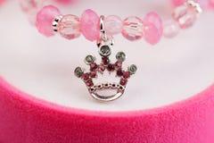 Pendant closeup crown Stock Image