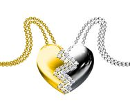 Pendant de diamant Image libre de droits