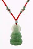 Pendant de jade Photo stock