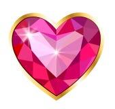 Pendant heart royalty free illustration