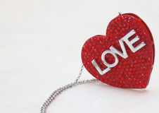 Pendant, jewelry, heart Stock Image