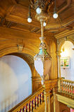 The pendant lamp of the building Royalty Free Stock Photos