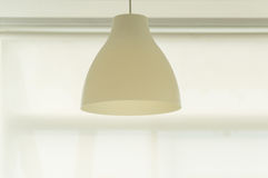Pendant lamp or hanging lamp on ceiling.  Stock Image