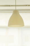 Pendant lamp or hanging lamp on ceiling.  Royalty Free Stock Images