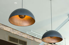 Pendant lamps Stock Images